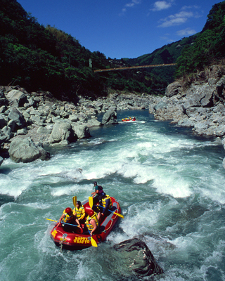 One day rafting